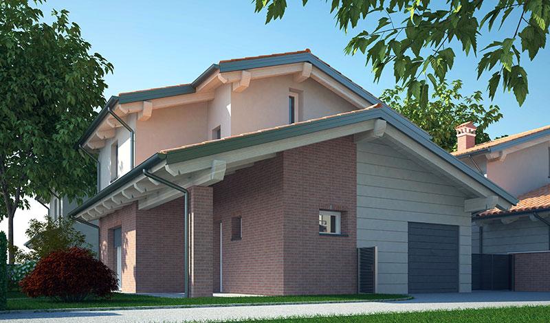 Case nuova costruzione San Giorgio di Piano - Impresa edile CHIMENTI 1978  CHIMENTI 1978 srl
